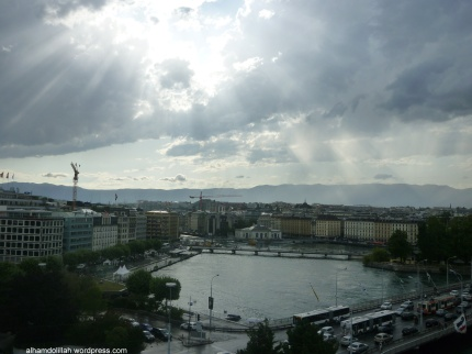 Mont Blanc Bridge In Geneva